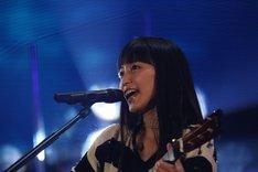 "「miwa spring concert 2014 ""渋谷物語~完~""」の様子。(撮影:佐藤薫)"