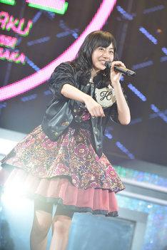 鈴木裕乃がステージ上で見せる「スズッシュ!」は残すところ日本武道館公演の1回のみ。