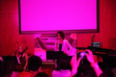 「SXSW 2014」でパフォーマンスを披露するYOSHIKI。