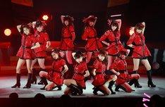 モーニング娘。'14「モーニング娘。'14コンサートツアー2014春~エヴォリューション~」東京・オリンパスホール八王子公演の様子。