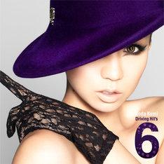 倖田來未「Koda Kumi Driving Hit's 6」CD+DVD盤ジャケット