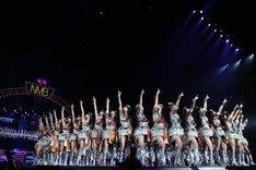 「AKB48グループ春コンinさいたまスーパーアリーナ ~思い出は全部ここに捨てていけ!~」NMB48単独公演の様子。 (c)AKS