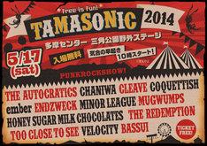 「TAMASONIC 2014」メインビジュアル