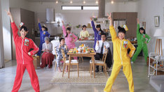 「チームしゃちほこの野菜生活体操」プロモーションビデオのワンシーン。