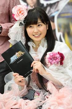 「聖闘士星矢 LEGEND of SANCTUARY」公開アフレコに挑んだ佐々木彩夏。