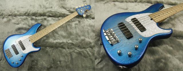 Sago NEW MATERIAL GUITARS製のギター。