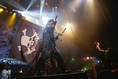 「VAMPS LIVE 2014: LONDON PRE-LIVE」の様子。(撮影: 田中和子)