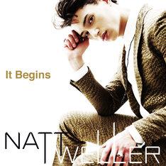 ナット・ウェラー「It Begins」CD+DVD盤ジャケット