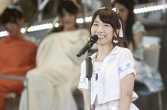 AKB48 37thシングル選抜総選挙第3位の柏木由紀(AKB48チームB / NMB48チームN兼任)。 (c)AKS