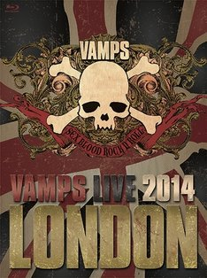 VAMPS「VAMPS LIVE 2014: LONDON」Blu-ray通常盤Aジャケット