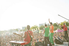 過去に行われた「TOYOTA ROCK FESTIVAL」の様子。