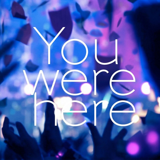 8月1日に配信リリースされるBUMP OF CHICKEN「You were here」ジャケット。