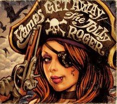 VAMPS「GET AWAY / THE JOLLY ROGER」通常盤ジャケット