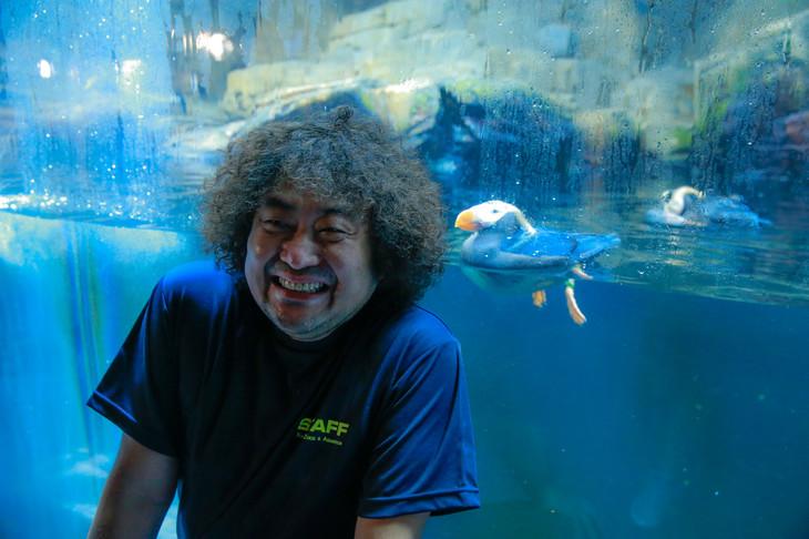 葉加瀬太郎、水族館で「エトピリ...