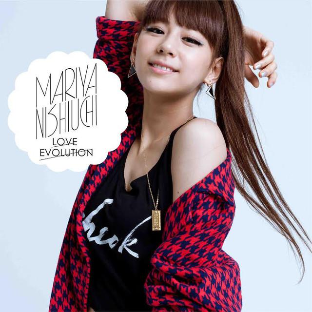 西内まりや「LOVE EVOLUTION」通常盤(CD)ジャケット