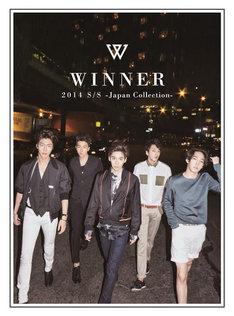 WINNER「2014 S/S -Japan Collection-」CD+DVD盤ジャケット
