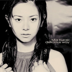 2000年にリリースされた倉木麻衣「delicious way」のジャケット。