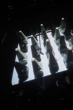 メトロノームを使用した特殊な装置。