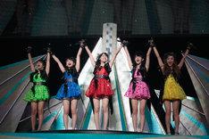 ℃-ute(「℃-ute(910)の日スペシャルコンサート2014 Thank you ベリキュー!in 日本武道館[前編]の様子)