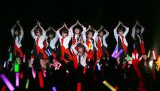 モーニング娘。'14 誕生日記念ライブ「18年目もいきまっしょい!」ライブの様子。