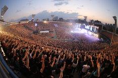 ONE OK ROCK「Mighty Long Fall at Yokohama Stadium」の模様。
