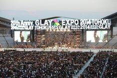 GLAY「GLAY EXPO 2014 TOHOKU」の様子。