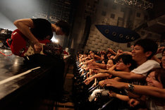 syrup16g「syrup16g Hurt リリース記念ツアー『再発』」なんばHatch公演の様子。(Photo by Yuki Kawamoto)