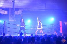 田口華と磯野莉音からなるユニット・プロレス同好会。
