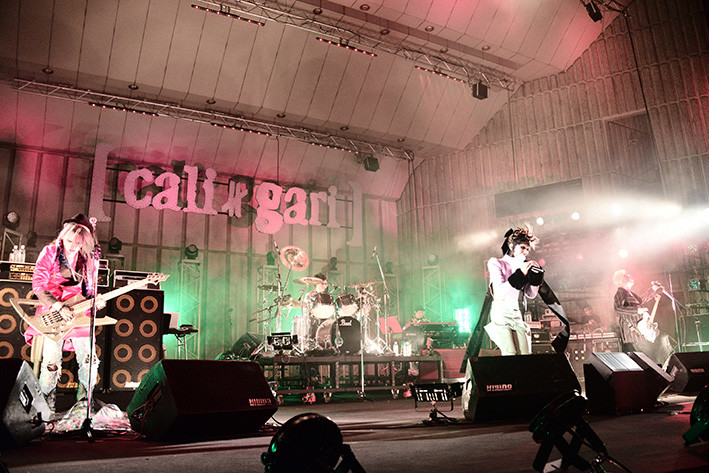 "cali≠gari「cali≠gari 20th Caliversary ""2013-2014"" 最終公演第7期終了 - To say Good bye is to die a little -」の様子。"