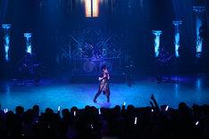 「喜多村英梨 Live 2014 ~GiVE×EViDENCE~」の様子。