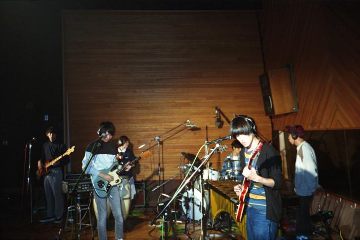 """ミツメ「""""Blue Hawaii Session"""" Tour」キービジュアル"""