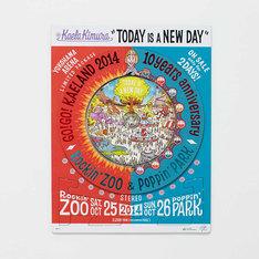 木村カエラ「TODAY IS A NEW DAY」横浜アリーナ会場限定盤ジャケット