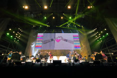 「THE IDOLM@STER 9th ANNIVERSARY WE ARE M@STERPIECE!!」の様子。