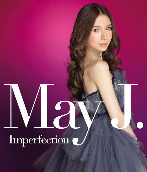 May J.「Imperfection」CD+Blu-ray盤ジャケット