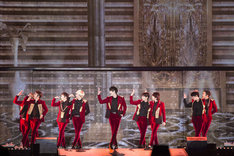 "SUPER JUNIOR「SUPER JUNIOR WORLD TOUR ""SUPER SHOW 6""」の様子。"