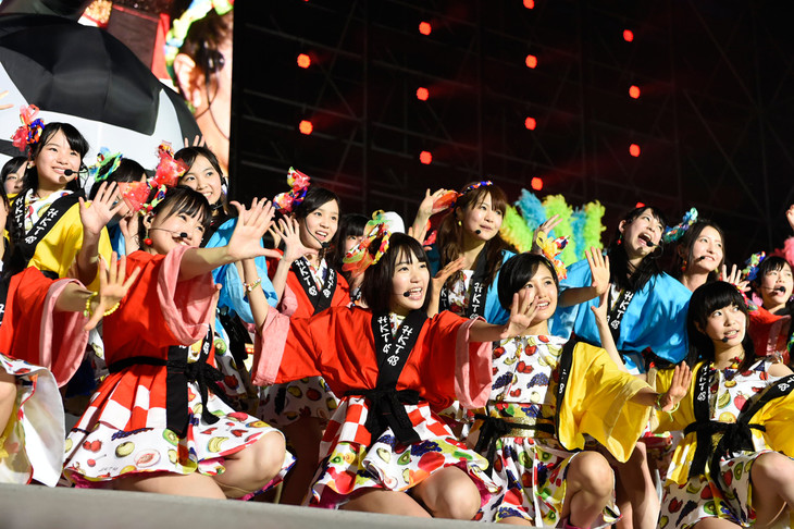 「DOCUMENTARY of HKT48」(仮題)のワンシーン。(c)2015「DOCUMENTARY of HKT48」製作委員会