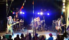 Derailersのライブの様子。