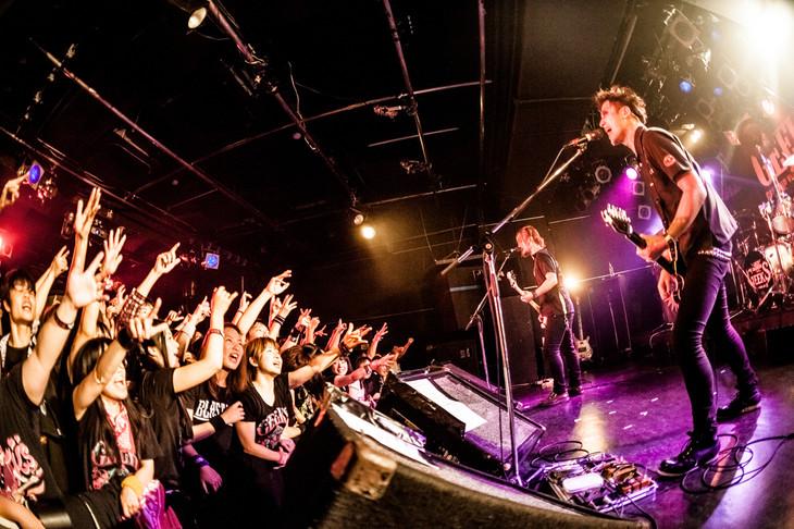 「GEEKS ONEMAN SHOW【ALKALOGIC MARKET】」東京・原宿アストロホール公演の様子。