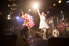 TRUSTRICK「Year's End Curtain Call」の様子。
