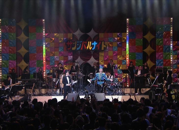 WOWOW「リリー・フランキーpresents ザンジバルナイト2014 ~一夜限りのスペシャル歌謡ショー~」のワンシーン。