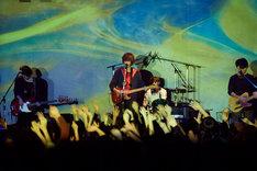 米津玄師「LIVE 帰りの会・続編」東京・LIQUIDROOM公演の様子。(撮影:中野敬久)