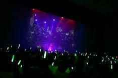 東京・渋谷公会堂で行われた「春奈るなライブ2014-WINTER-」の様子。