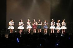 「スマイレージ ライブツアー2014秋 ~FULL CHARGE~」東京・TSUTAYA O-EAST公演の様子。