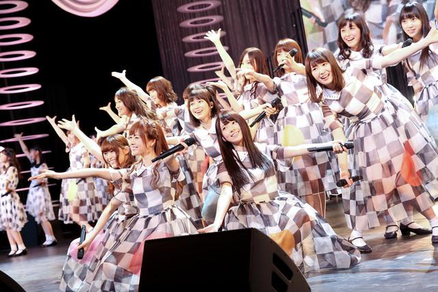 乃木坂46「大感謝祭2014」の様子。