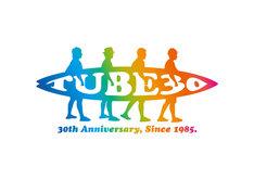 TUBEデビュー30周年記念ロゴ