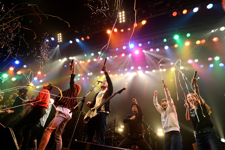 「the pillows presents COUNT DOWN BUMP SHOW!! 2014→2015」カウントダウンの瞬間。