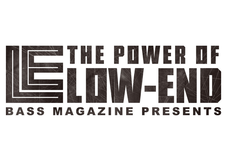 「Bass Magazine Presents The Power of Low-End」ロゴ