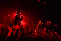 BIGMAMAと川上洋平(Vo, G / [Alexandros])によるコラボステージの様子。(Photo by Azusa Takada)