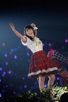 少女ナナを演じる水樹奈々。(Photo by hajime kamiiisaka)