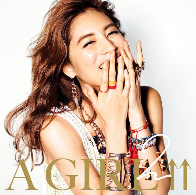 2013年12月発売の「A GIRL↑↑2 mixed by DJ和」ジャケット。